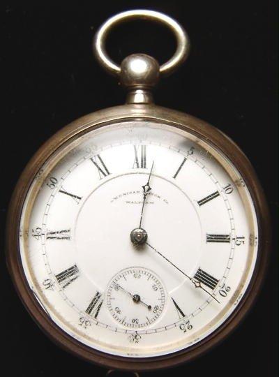 9: Waltham Appleton Tracy Coin Silver