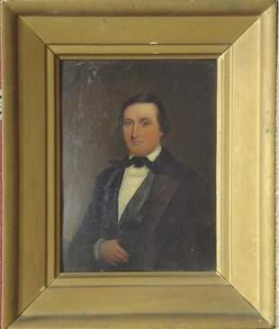 19th C. Portrait of Gentleman