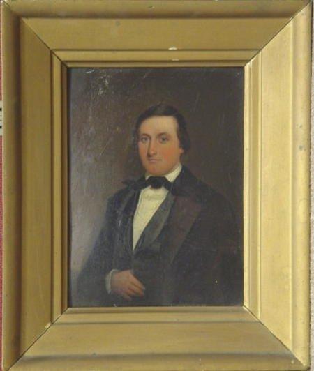 1014: 19th C. Portrait of Gentleman