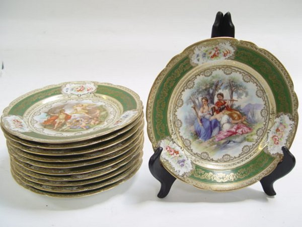 155: Magnificent 19th C. Royal Vienna porcela