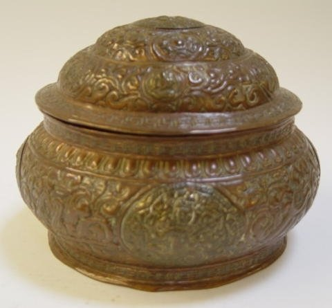 21 Tibetan Covered Bowl