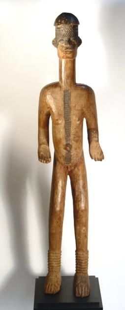 Large African Wood Figure