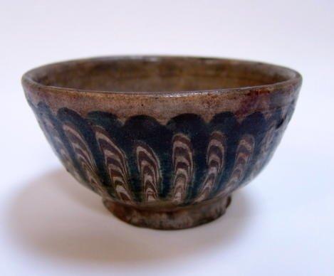 6 Roman Marvered Glaze Bowl