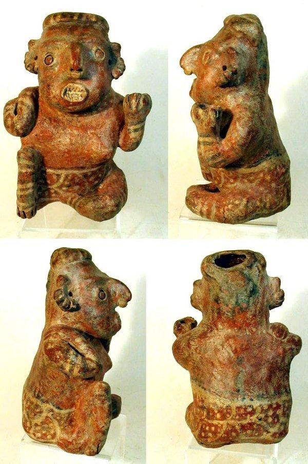 9 Nayarit Kneeling Figure