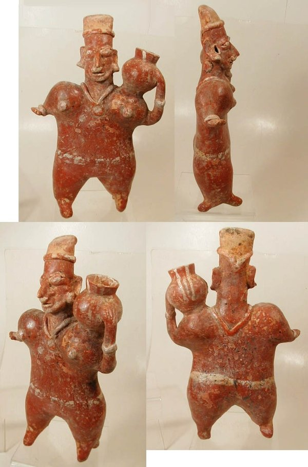 11 Jalisco Pottery Standing Female
