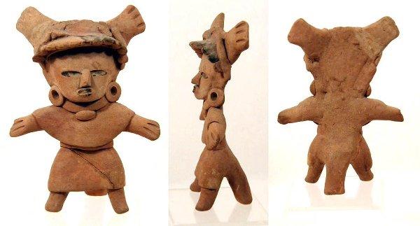 12 Vera Cruz Pottery Standing Figure