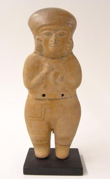 15 Guanguala Jamacoaque Standing Effigy Figure