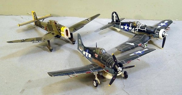 18: Fighter Plane Model Grouping