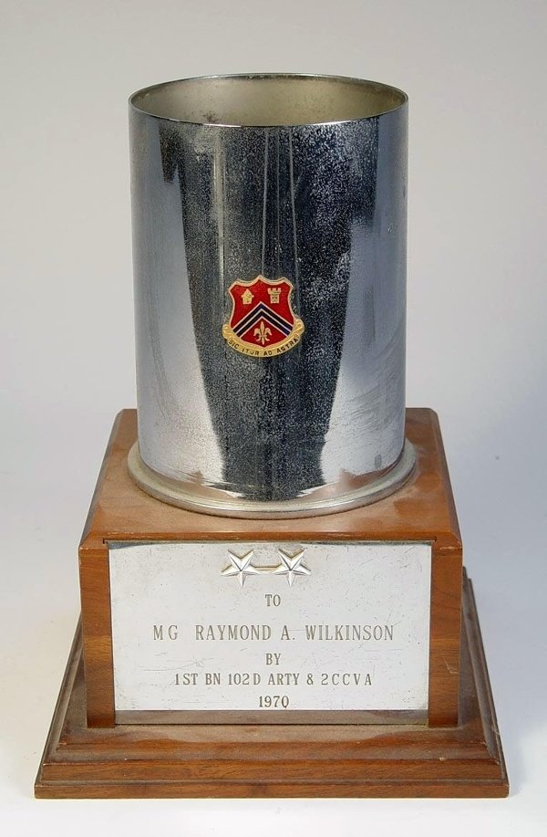 23: Military Steel Cup / Trophy