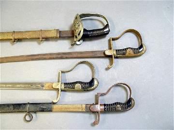 553: Group Four WW I Swords