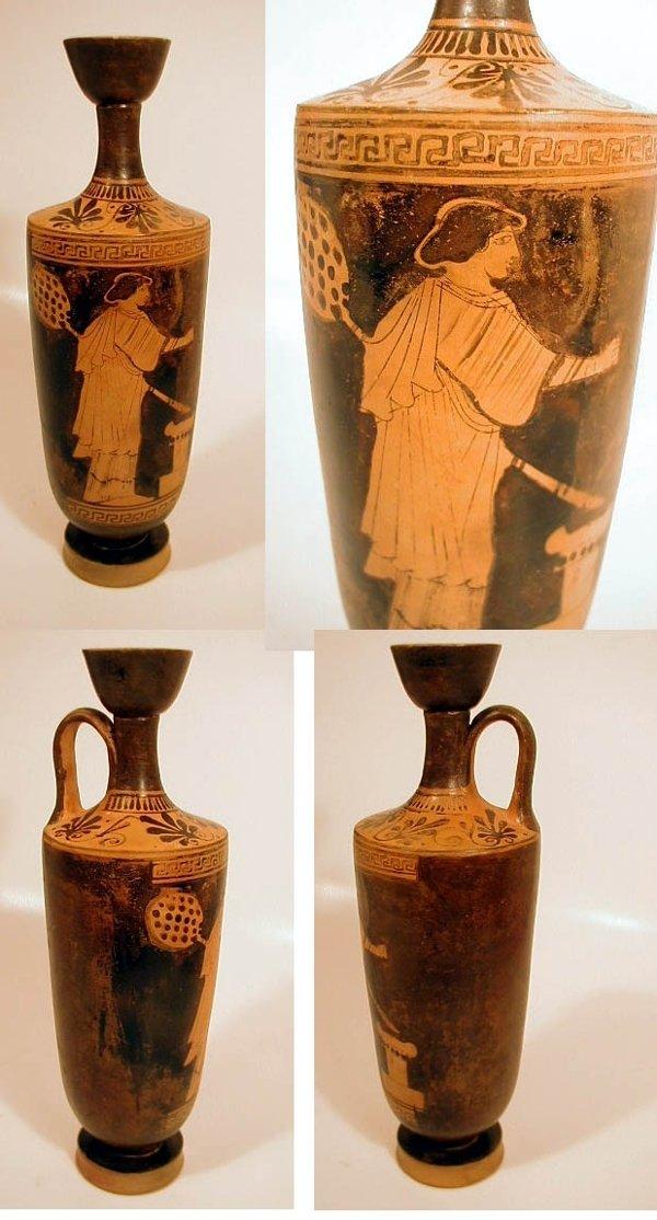 2001C: Attic Red-Figure Lekythos
