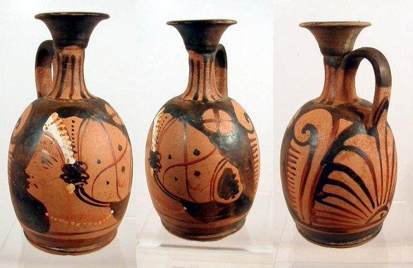 2002: Campanian Red Figure Squat Lekythos