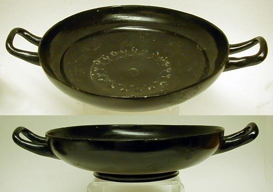 2005B: Apulian Black-Glazed Kylix