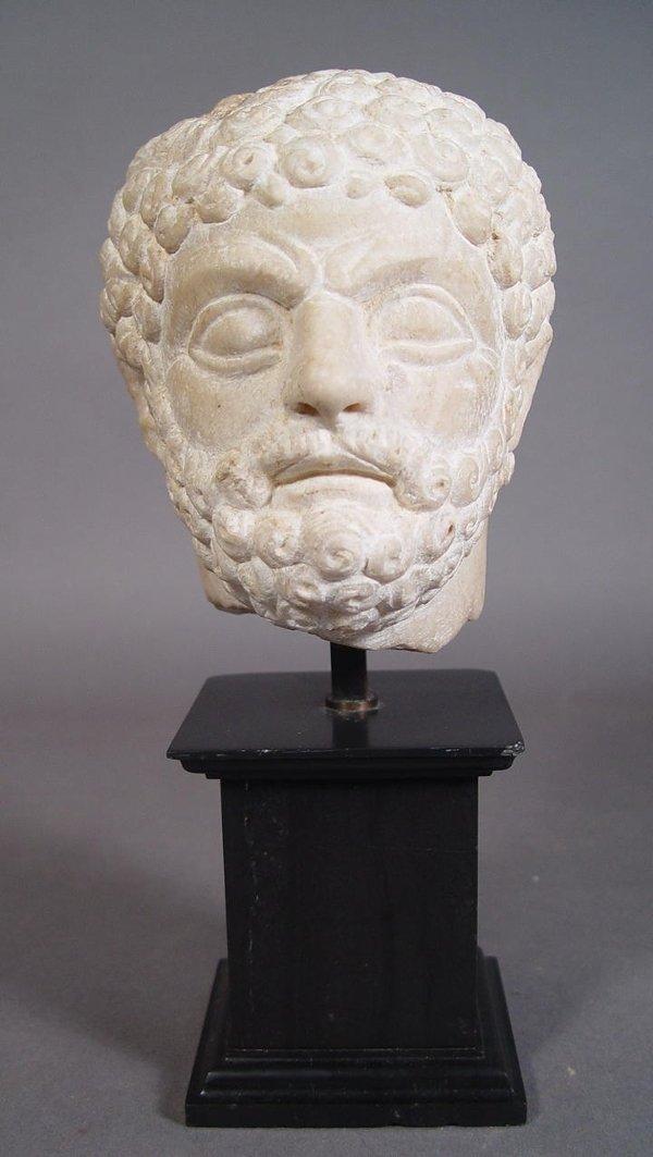 2011: Roman Marble Head