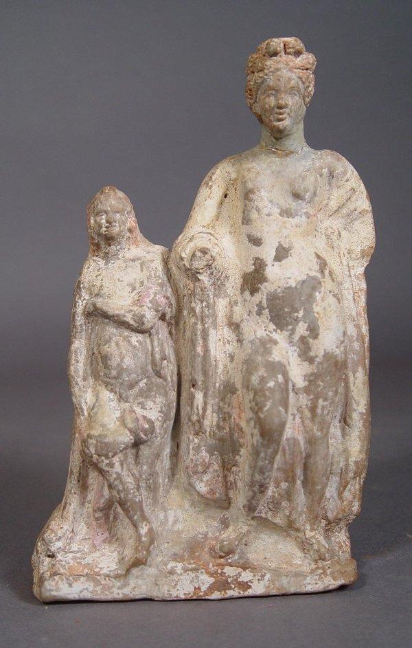 2014: Hellenistic Eros And Aphrodite Terracotta