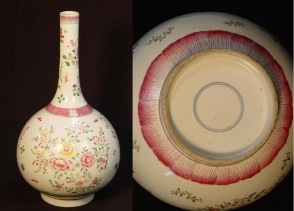 10: Chinese Export Famille Rose Vase