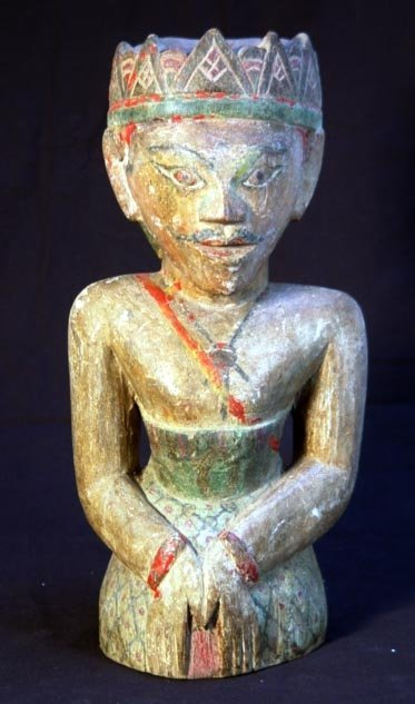 12: Antique Indonesian Male Wedding Figure