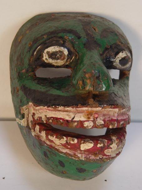 20: Indonesian Green Dance Mask