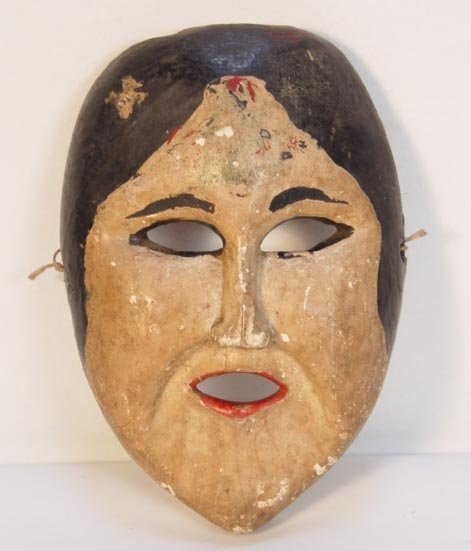 22: Antique Javanese Dance Mask