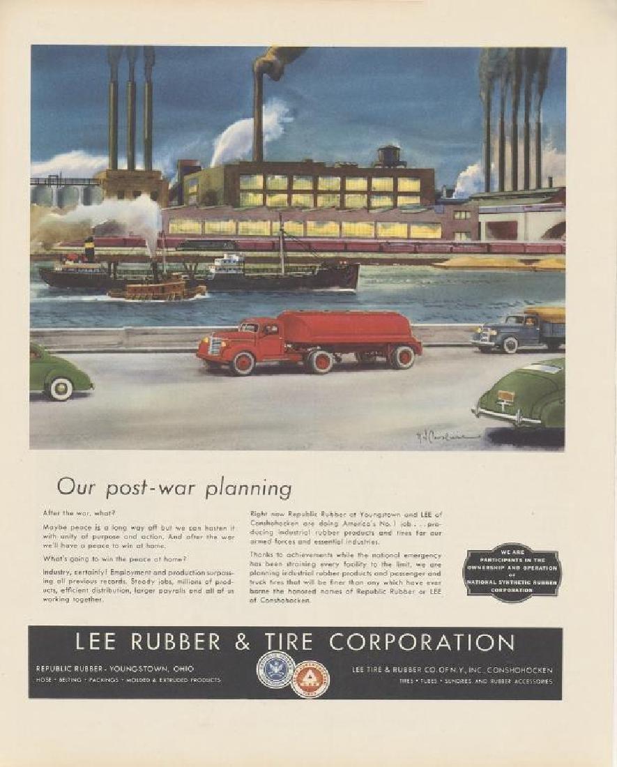 1944 Lee Rubber & Tire Advertisement