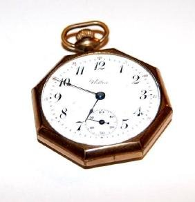 Vintage Langendorf Swiss Pocket Watch