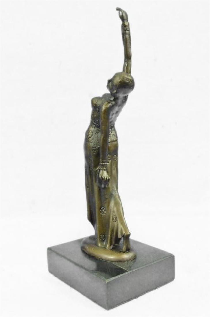 After Chiparus, Art Deco Dancer Bronze Sculpture - 4