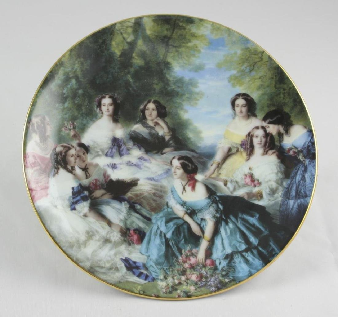 French Limoges Porcelain Dessert Plate