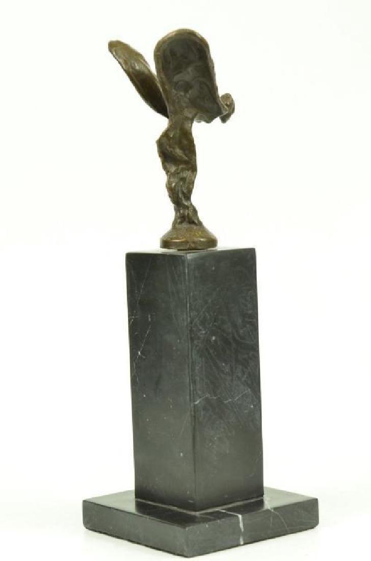 Spirit Of Ecstasy, Flying Lady Rolls Royce Bronze - 2