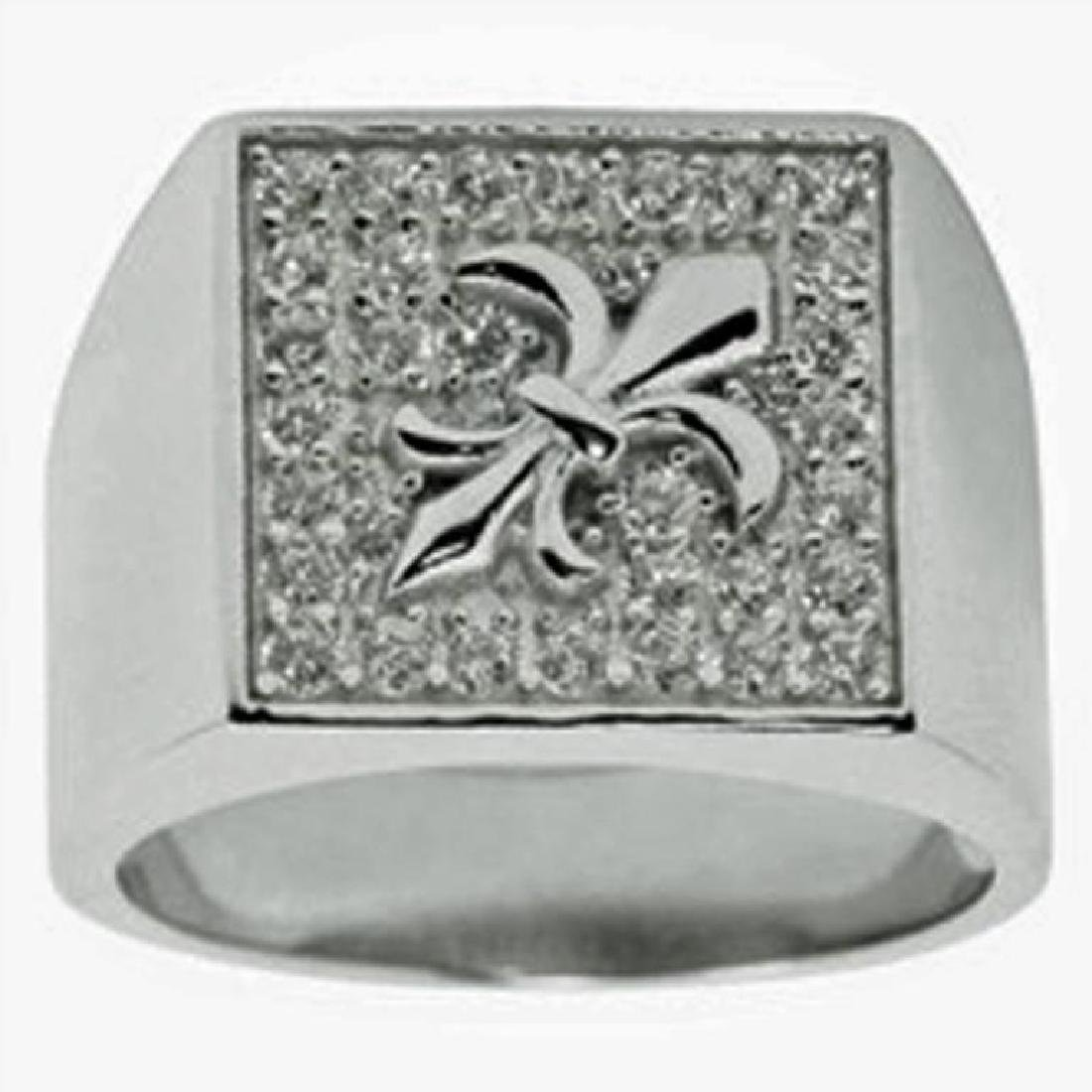 French Fleur de Lis Men's Ring