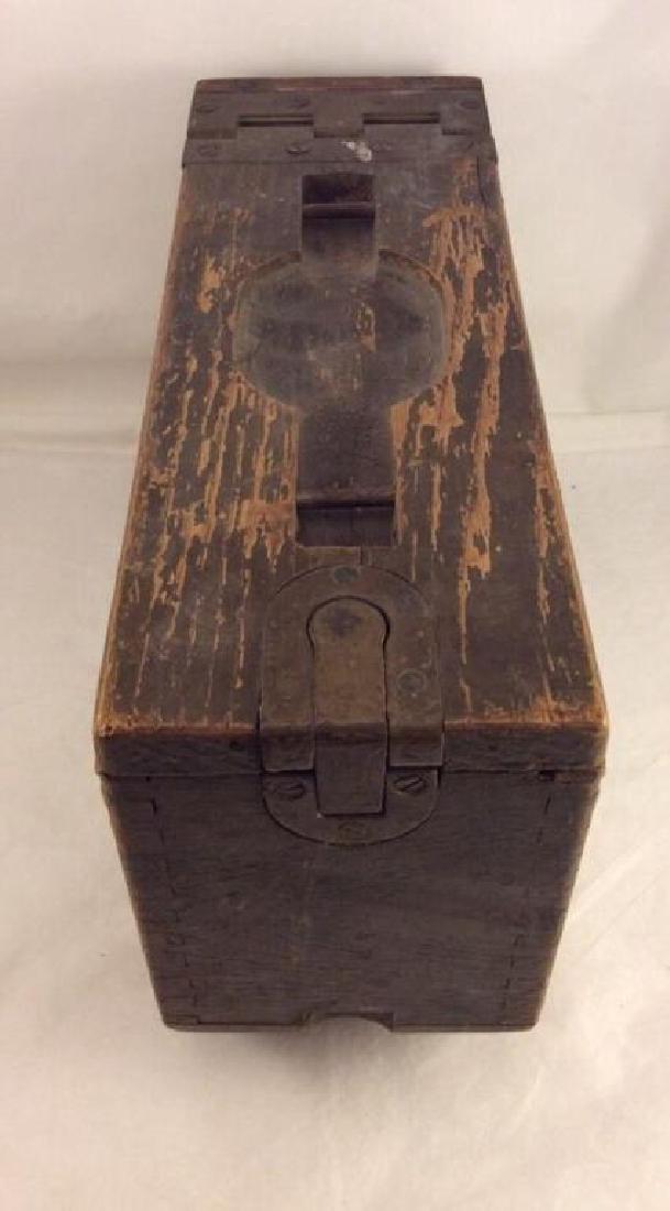 WWII Rare Original Colt Ammo Box - 2