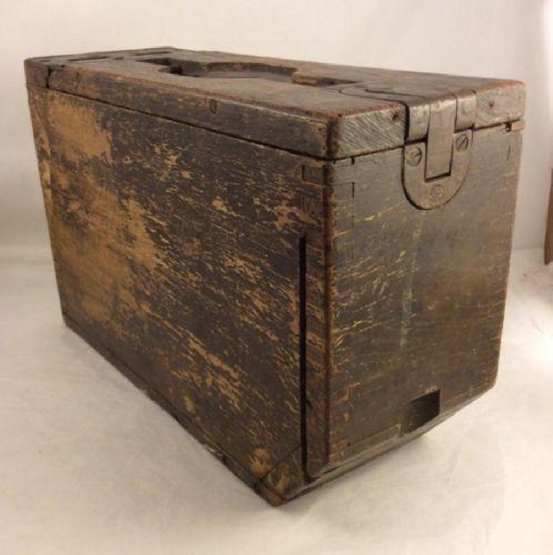 WWII Rare Original Colt Ammo Box - 3
