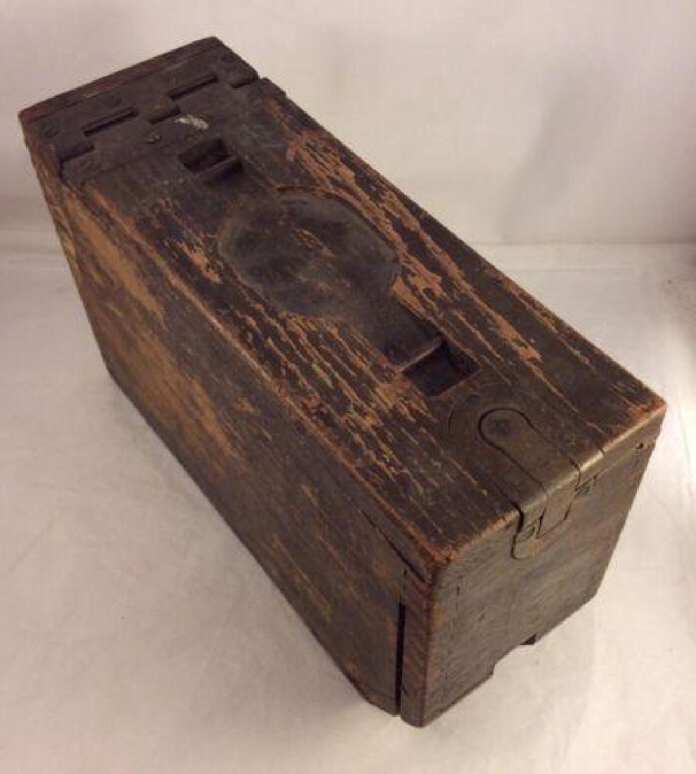 WWII Rare Original Colt Ammo Box - 4