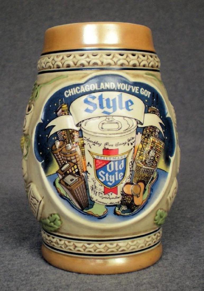 G. Heilemans Limited Edition Chicago Beer Stein