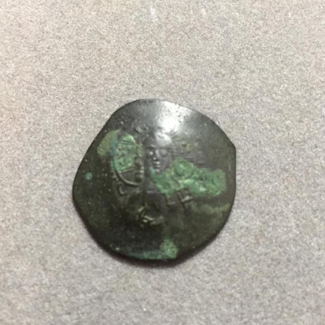 Byzantine Empire Coin, 1195-1215 AD - 2