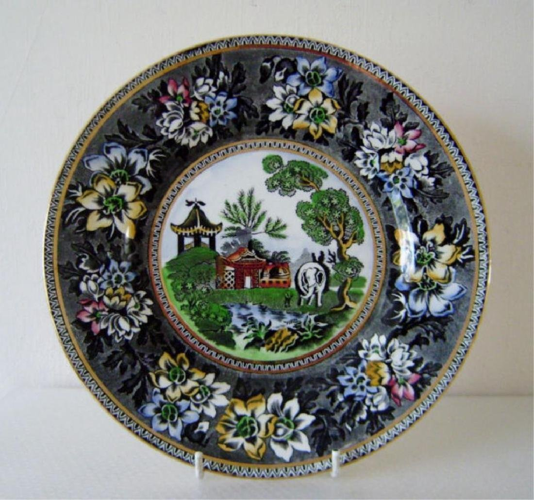 Staffordshire Hadderige Pottery Plate