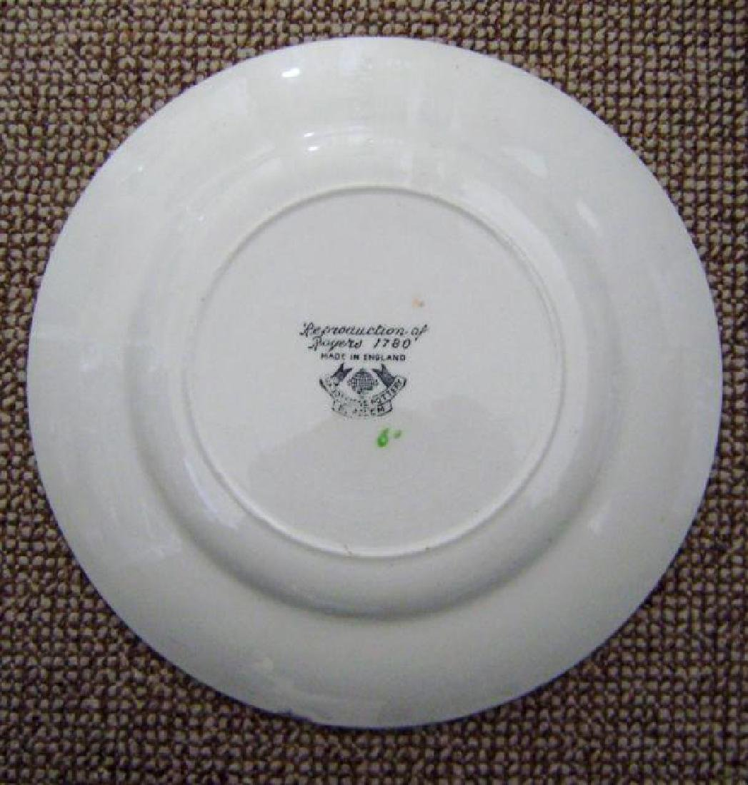 Staffordshire Hadderige Pottery Plate - 2
