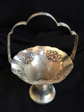 Victorian Silver Plated Trumpet Flower Vase