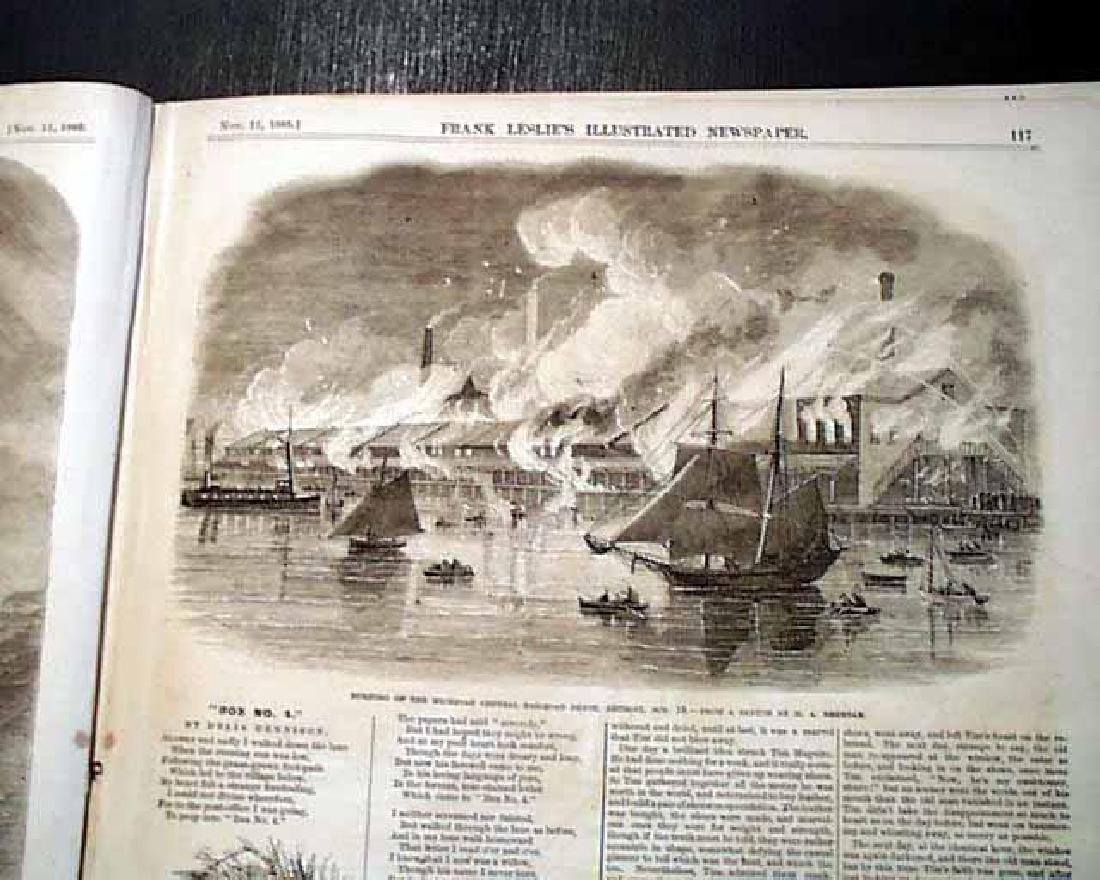 1865 Civil War Leslie's Illustrated Newspaper, NY - 5