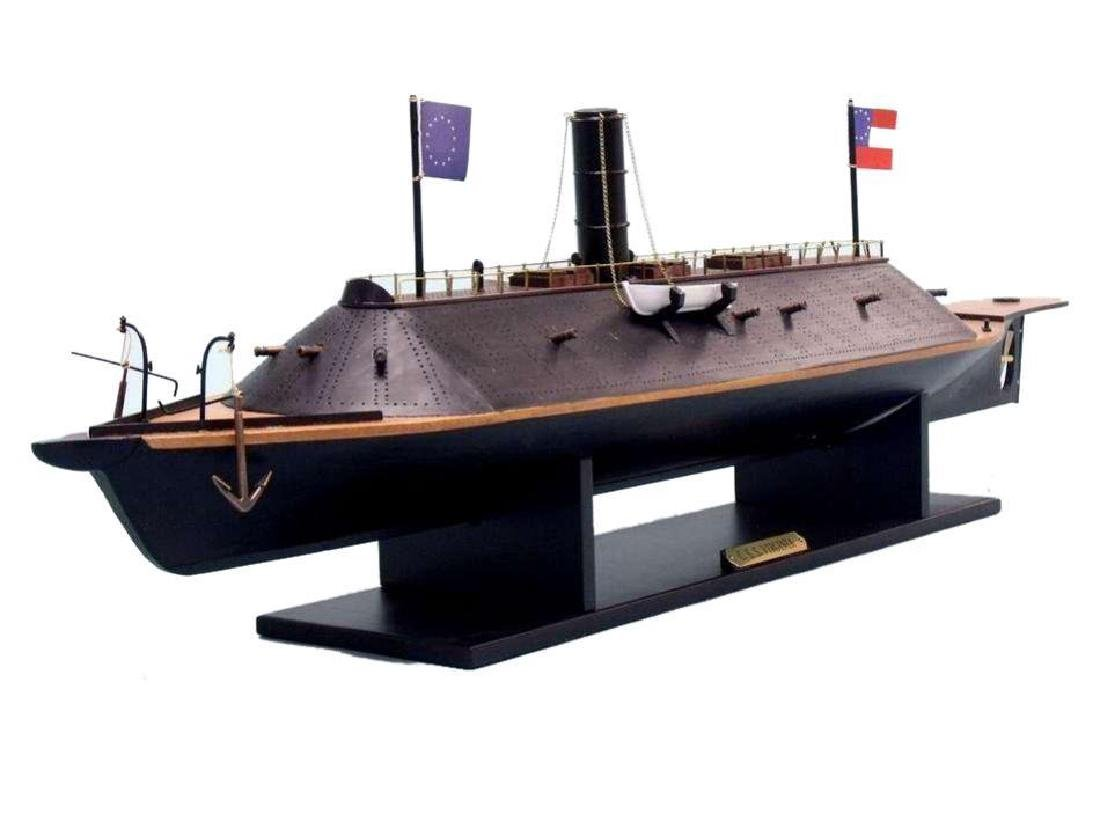 CSS Virginia Limited Ironclad Model Warship