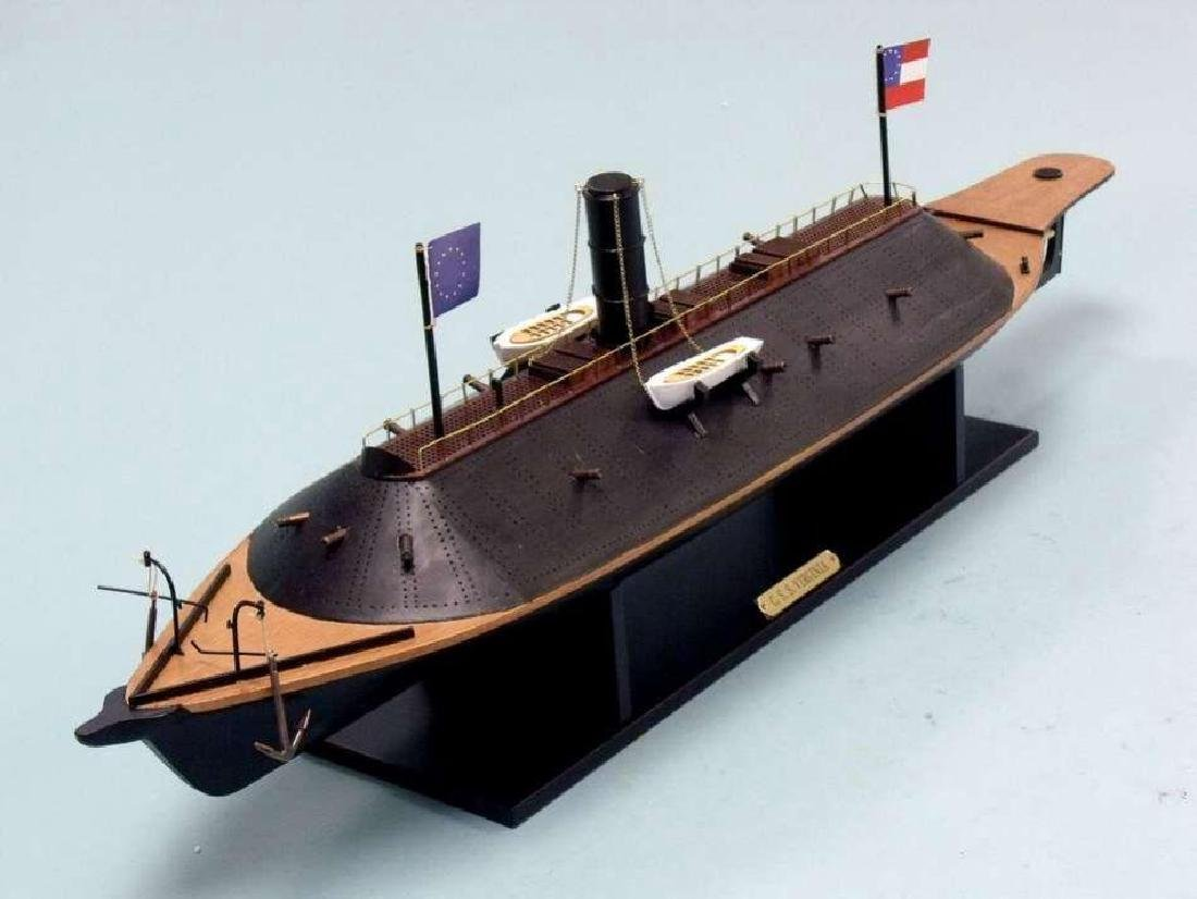 CSS Virginia Limited Ironclad Model Warship - 2