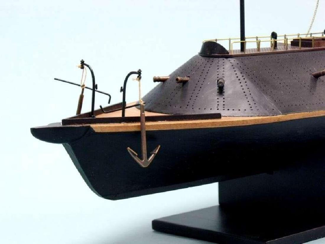 CSS Virginia Limited Ironclad Model Warship - 4