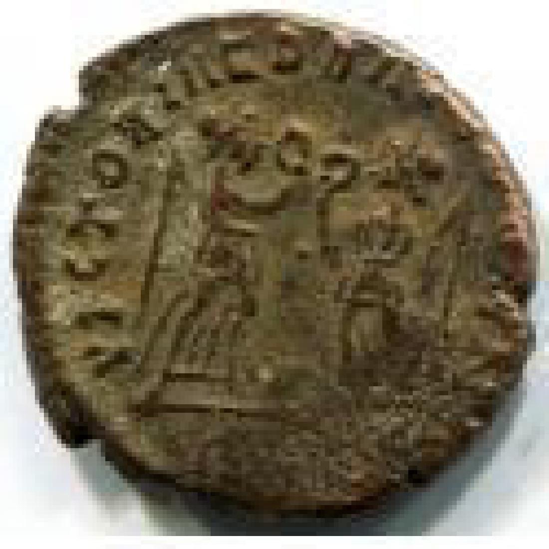 Ancient Bronze Museum Coin, Ihnasyah Hoard - 2