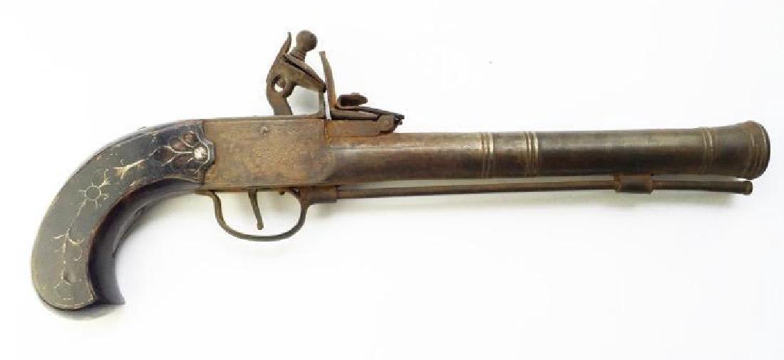 1820's English Blunderbuss, Theatrical Pistol