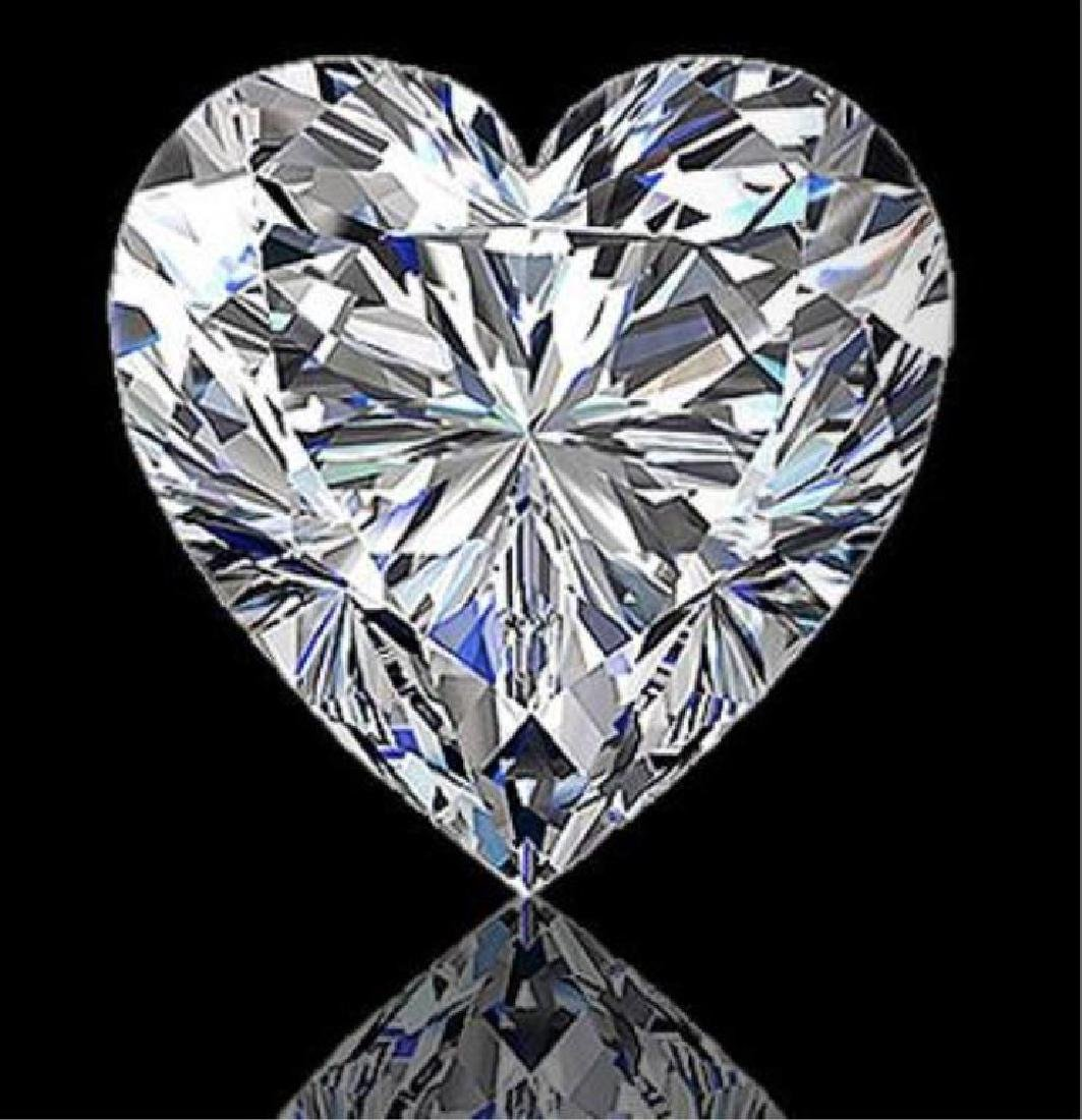 Magnificent 7.02ct Heart Shaped Diamond