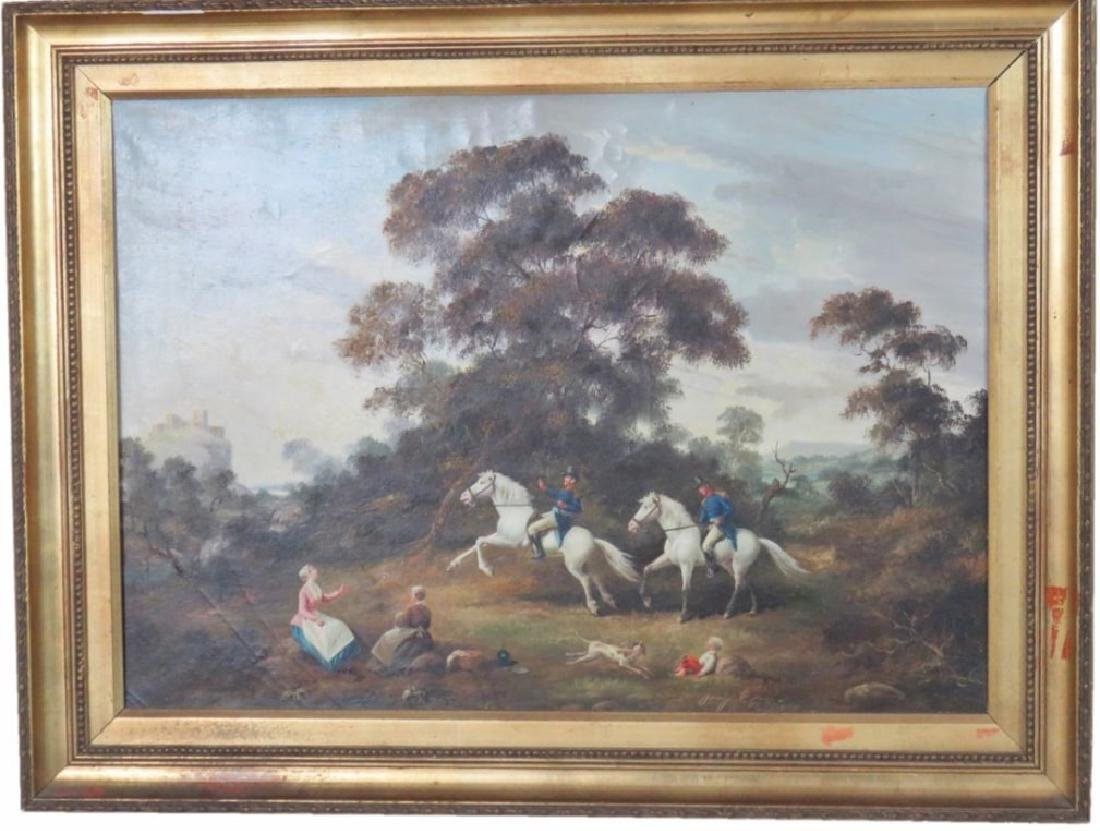 Original Oil mid 19th Century (signed see photo) French