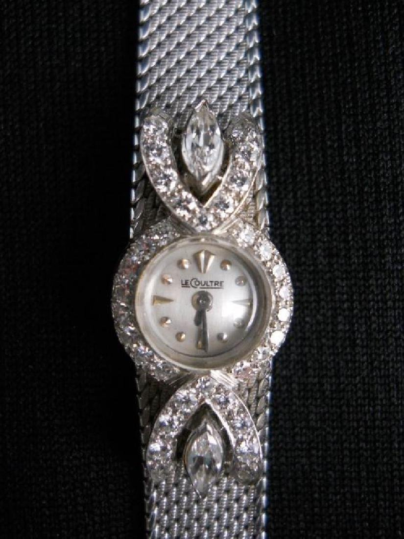 Patek Philippe Ladies Platinum & Diamond Watch