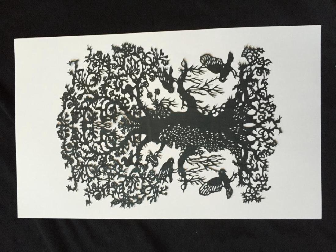 Hand-made Paper Cut Silhouette, Tree Of Life - 3