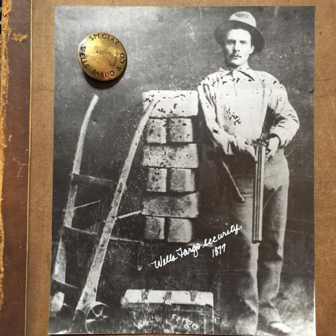 Wells Fargo Special Agent Badge Photo Set