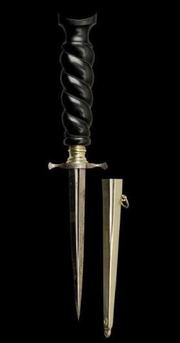 19thc Museum Quality Armor Piercing Dagger