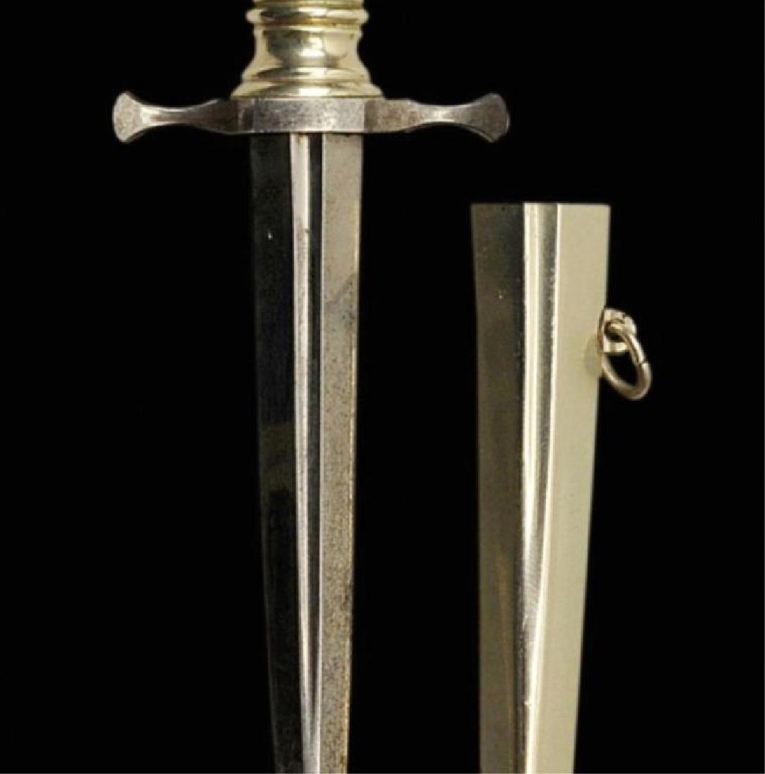 19thc Museum Quality Armor Piercing Dagger - 2